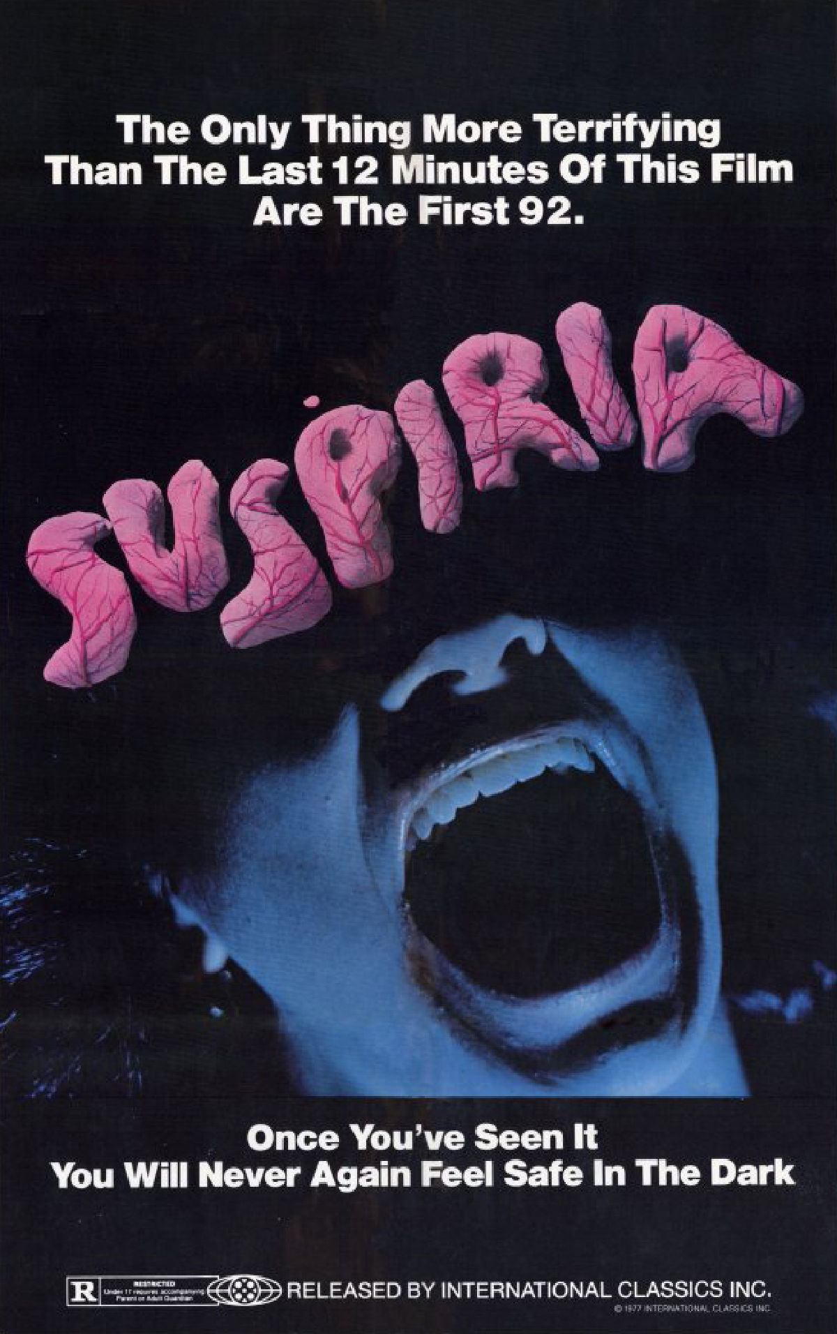 'Suspiria' movie poster