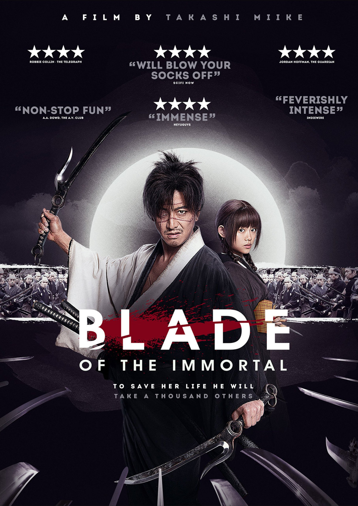 Poster for 'Blade Of The Immortal'