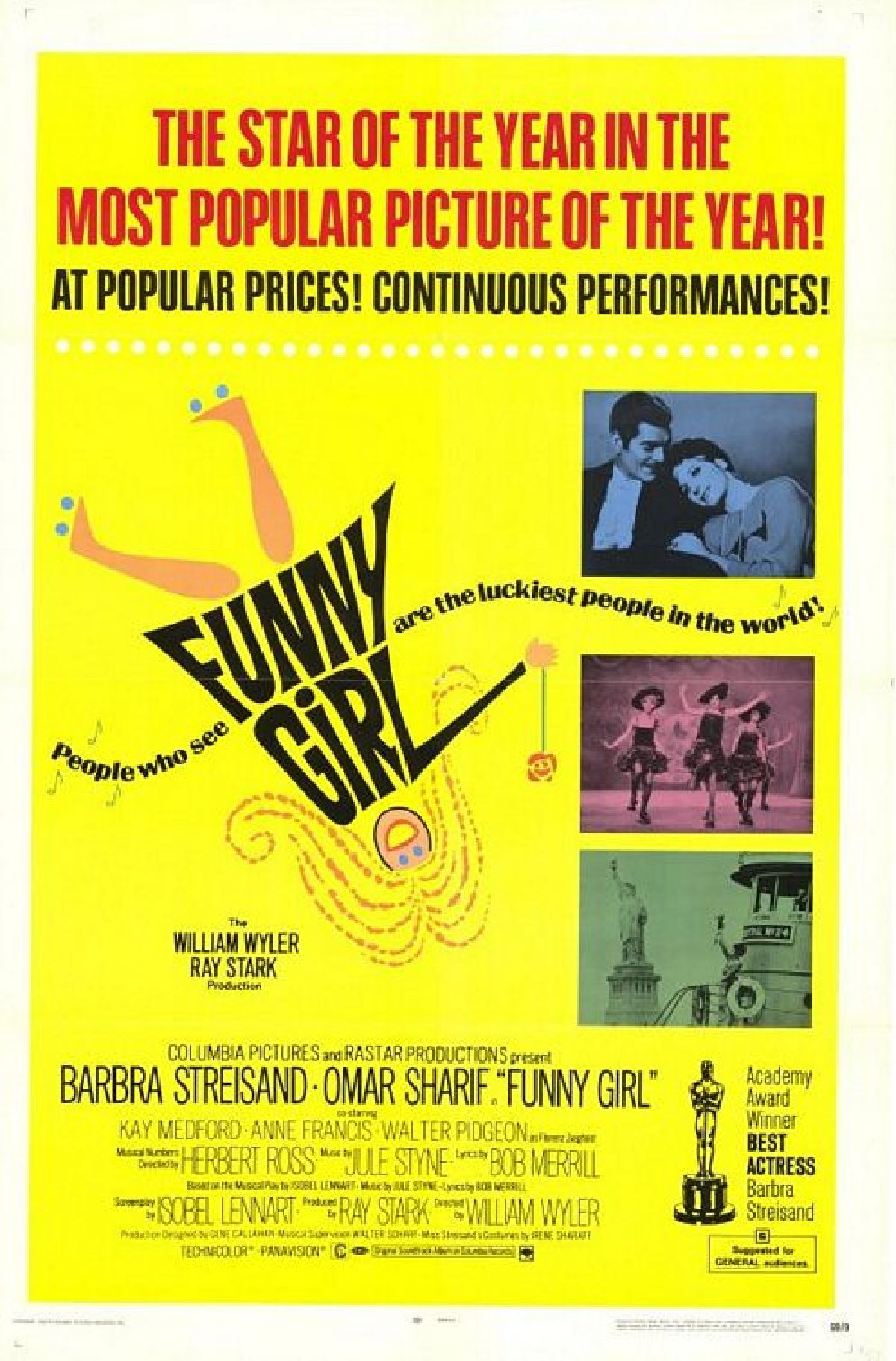 'Funny Girl' movie poster