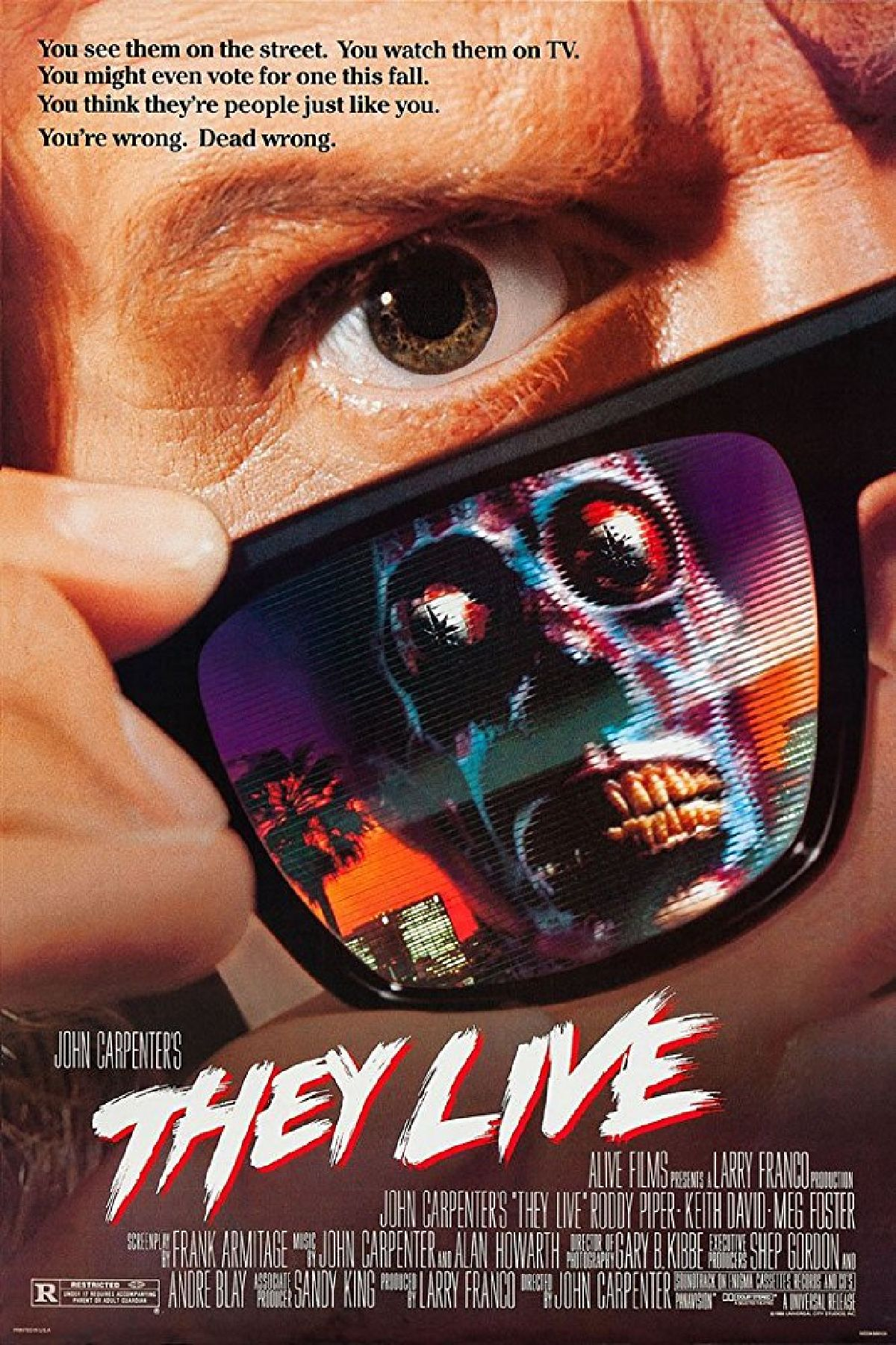 'They Live' movie poster