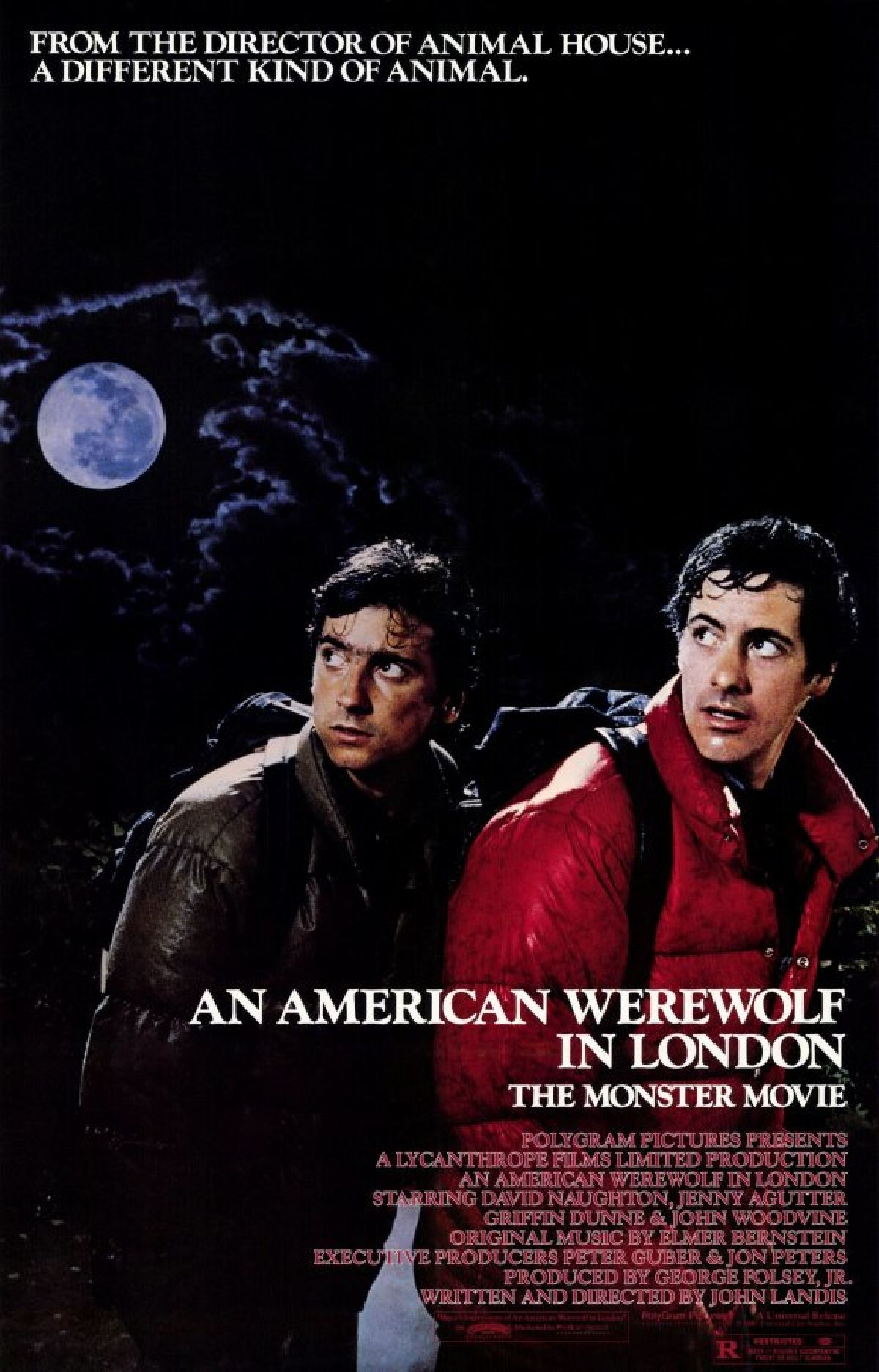 'An American Werewolf In London' movie poster
