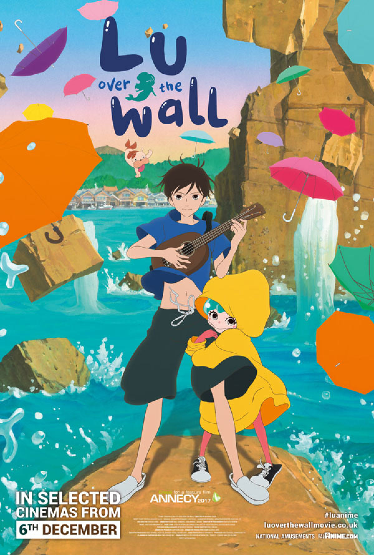 'Lu Over The Wall' movie poster