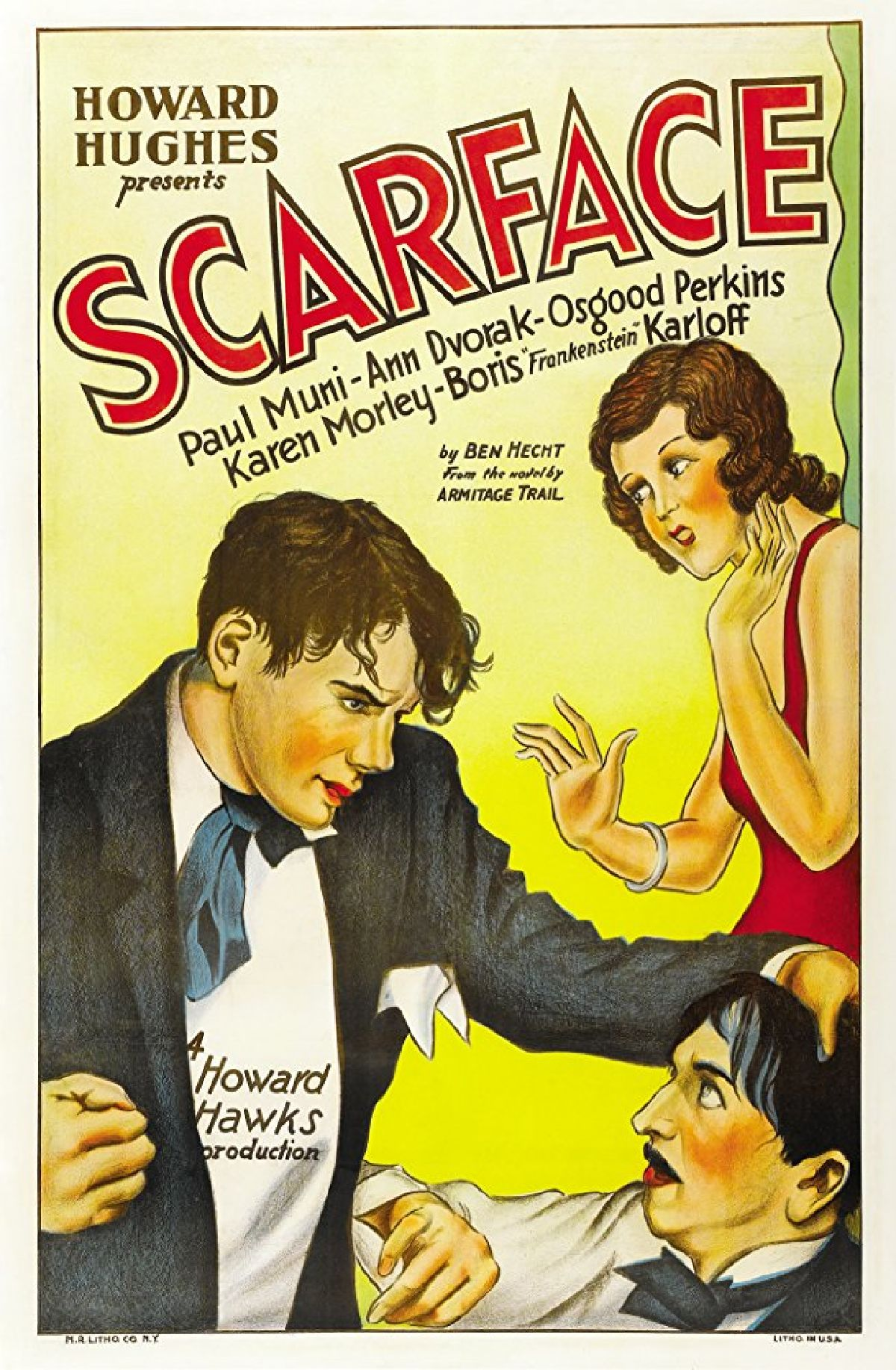 'Scarface (1932)' movie poster