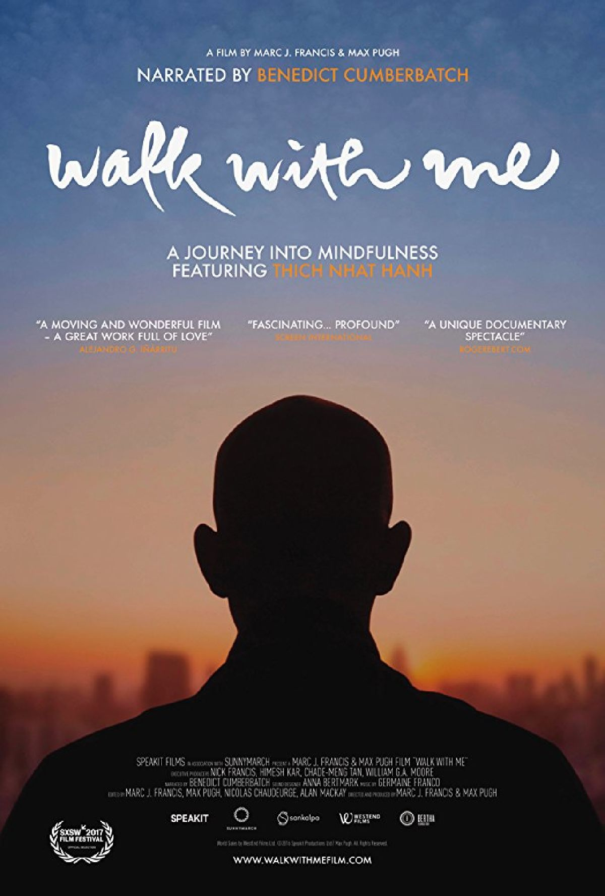 'Walk With Me' movie poster