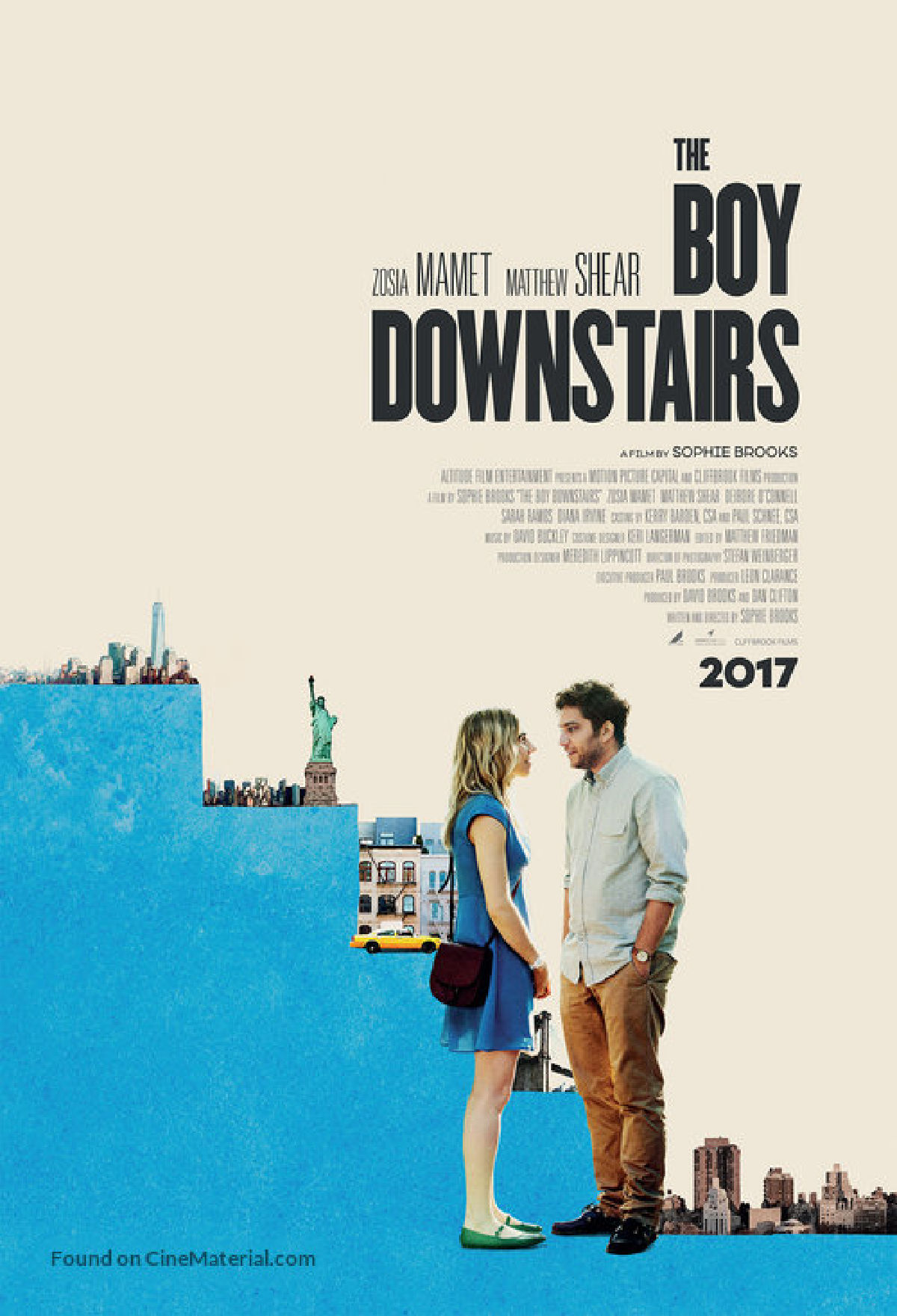 'The Boy Downstairs' movie poster