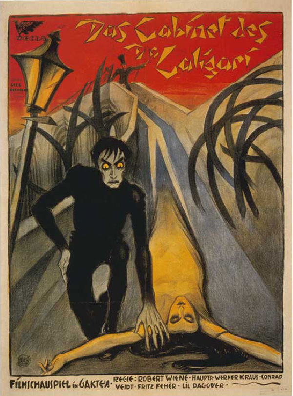 'The Cabinet Of Dr. Caligari' movie poster