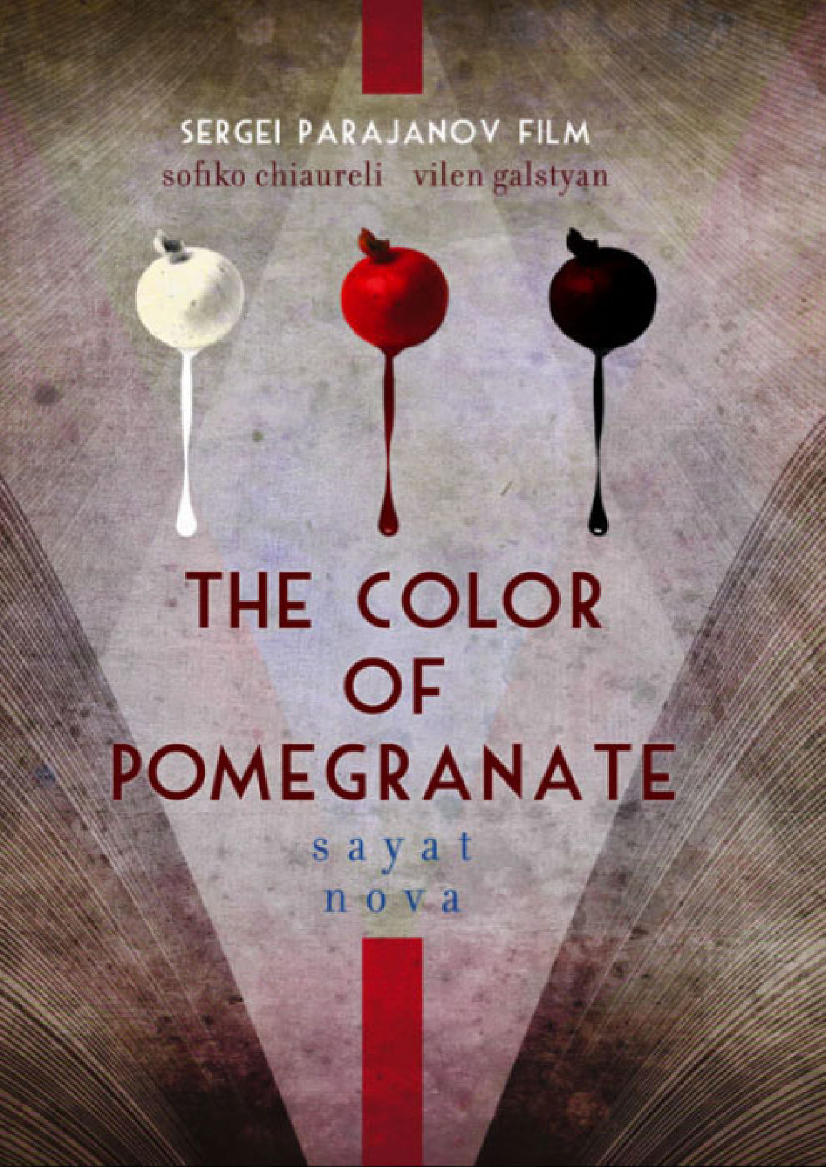 'The Colour Of Pomegranates (Sayat Nova)' movie poster