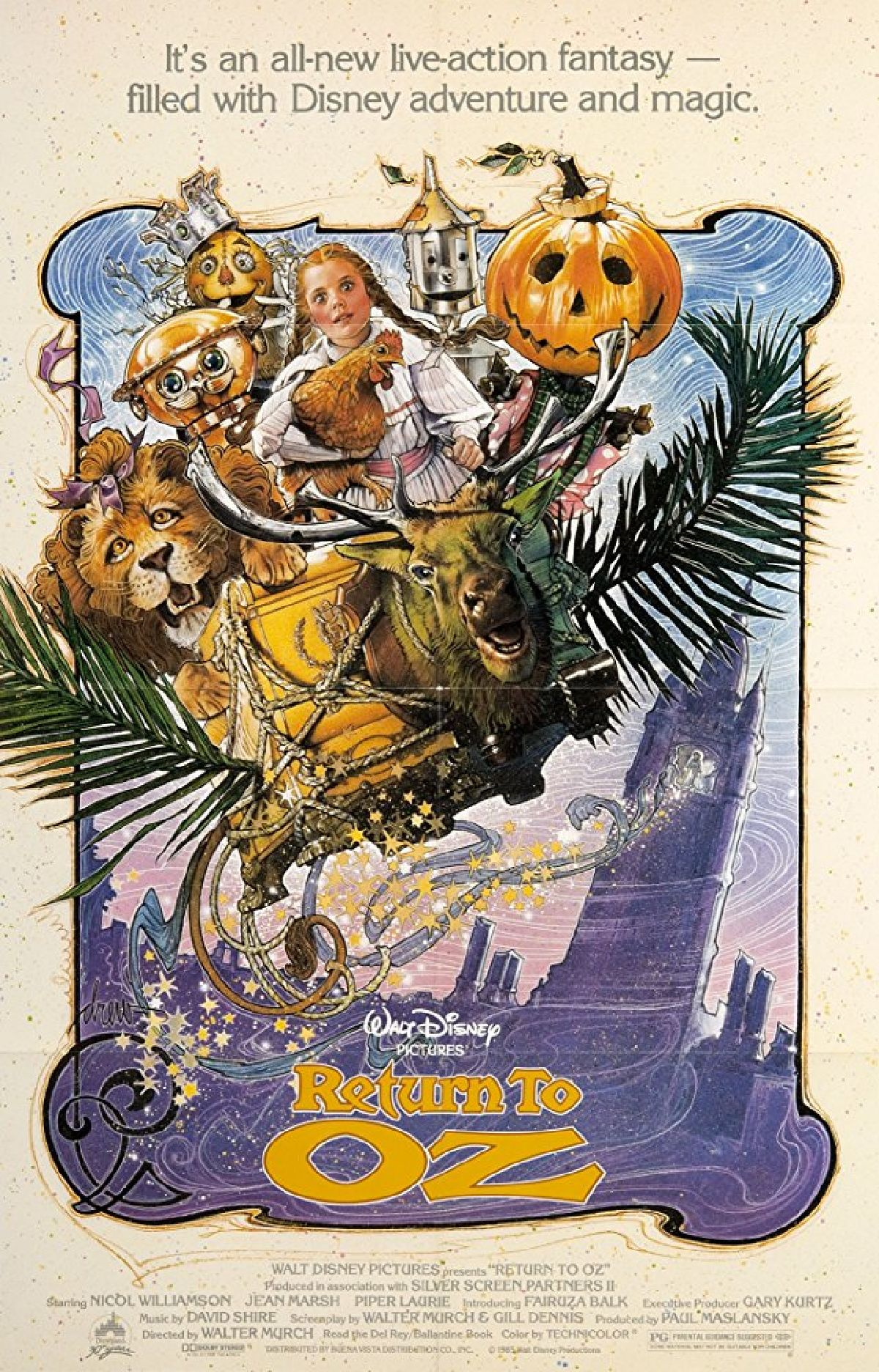 'Return To Oz' movie poster