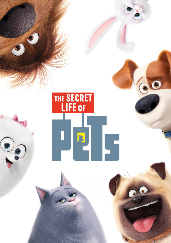 'The Secret Life Of Pets' movie poster