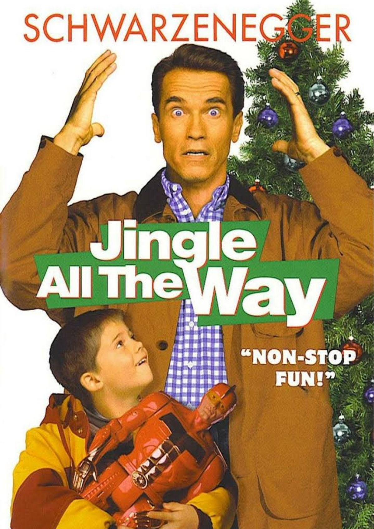 'Jingle All The Way' movie poster