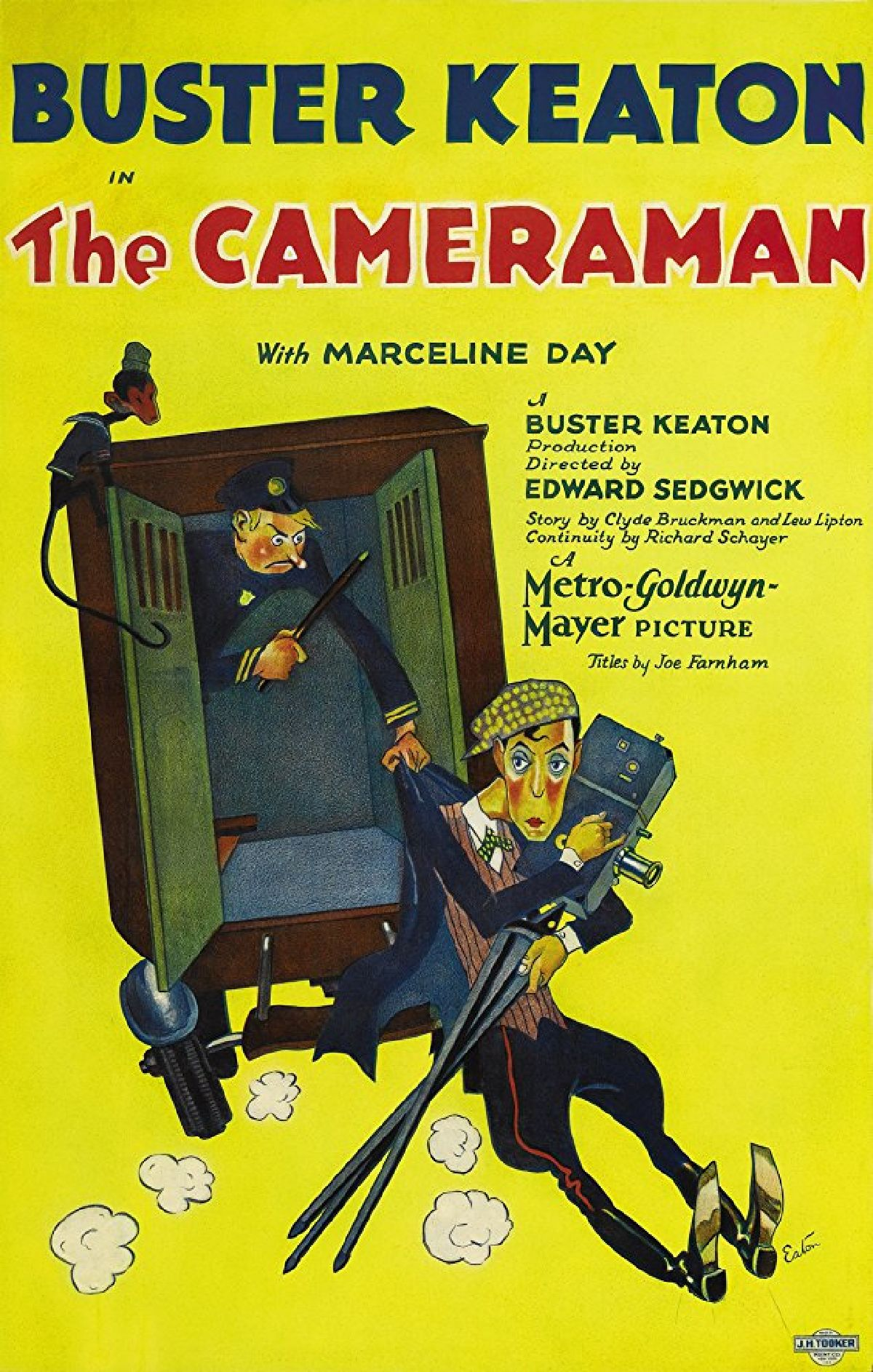 'The Cameraman' movie poster