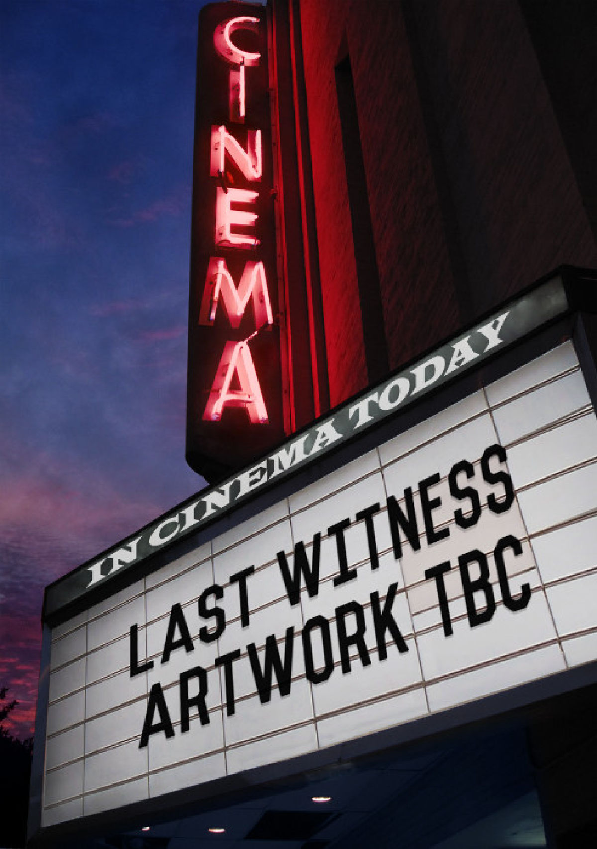 'Last Witness' movie poster