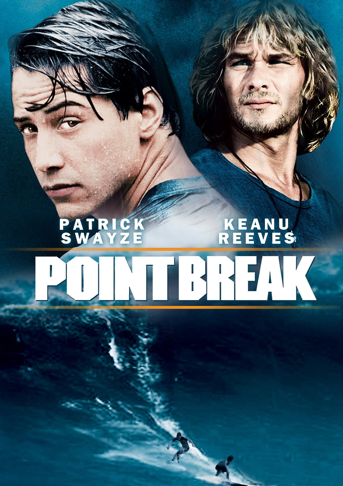 'Point Break (1991)' movie poster