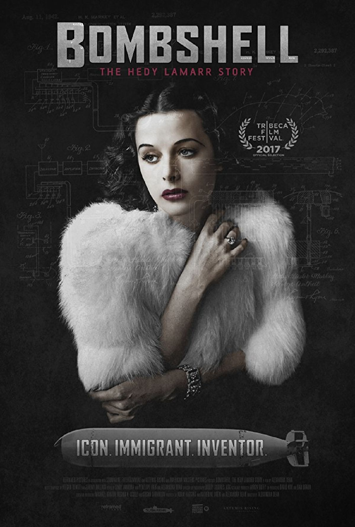 'Bombshell: The Hedy Lamarr Story' movie poster