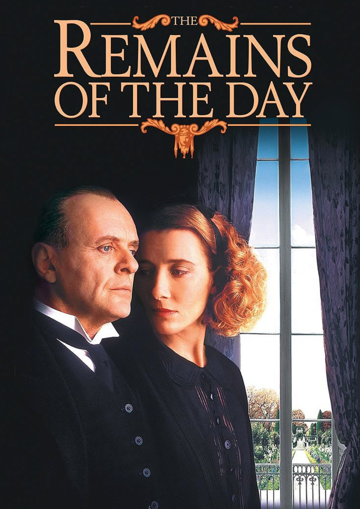 'The Remains Of The Day' movie poster