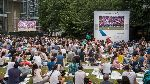 Image of Canada Square Park - Summer Screens At Canary Wharf